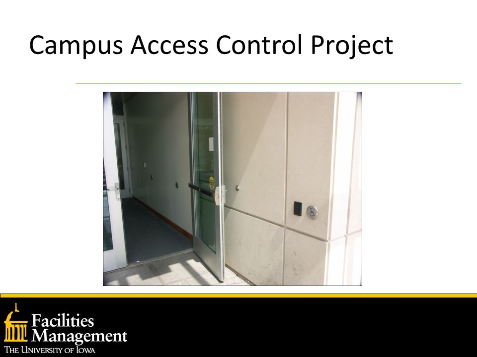 Campus Access Control Project