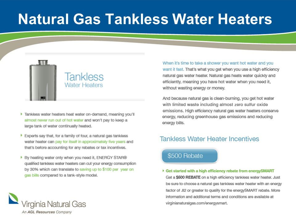 Natural Gas Tank-Style Water Heaters