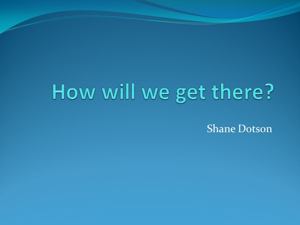 Shane Dotson