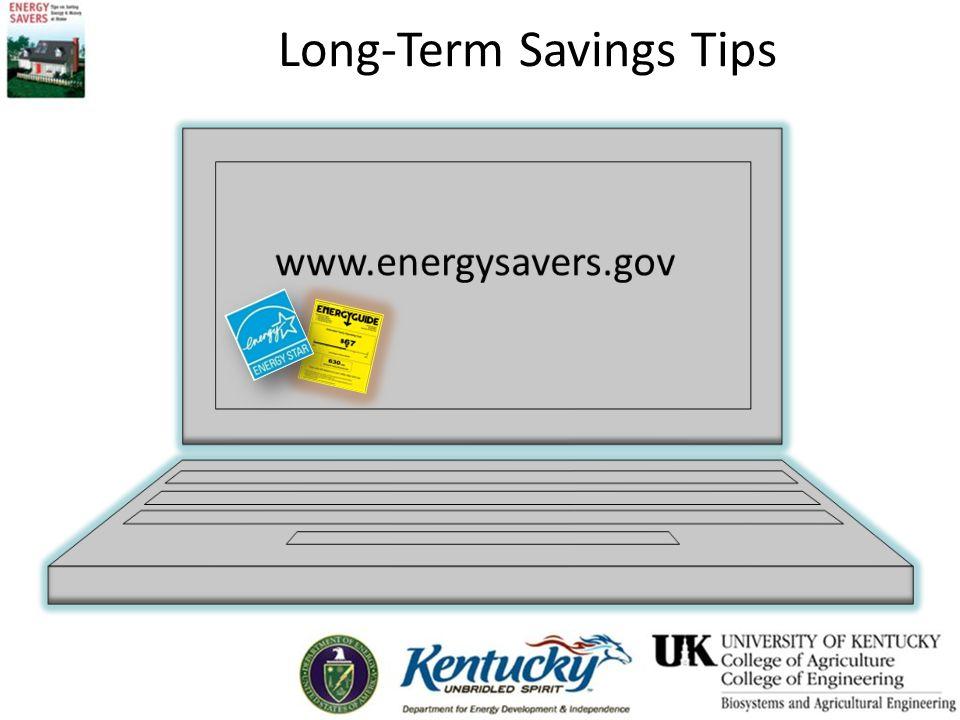Long-Term Savings Tips