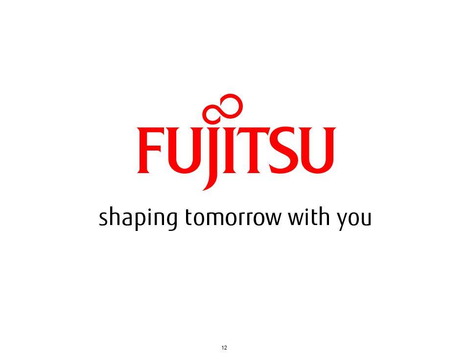 Copyright 2010 FUJITSU LIMITED12