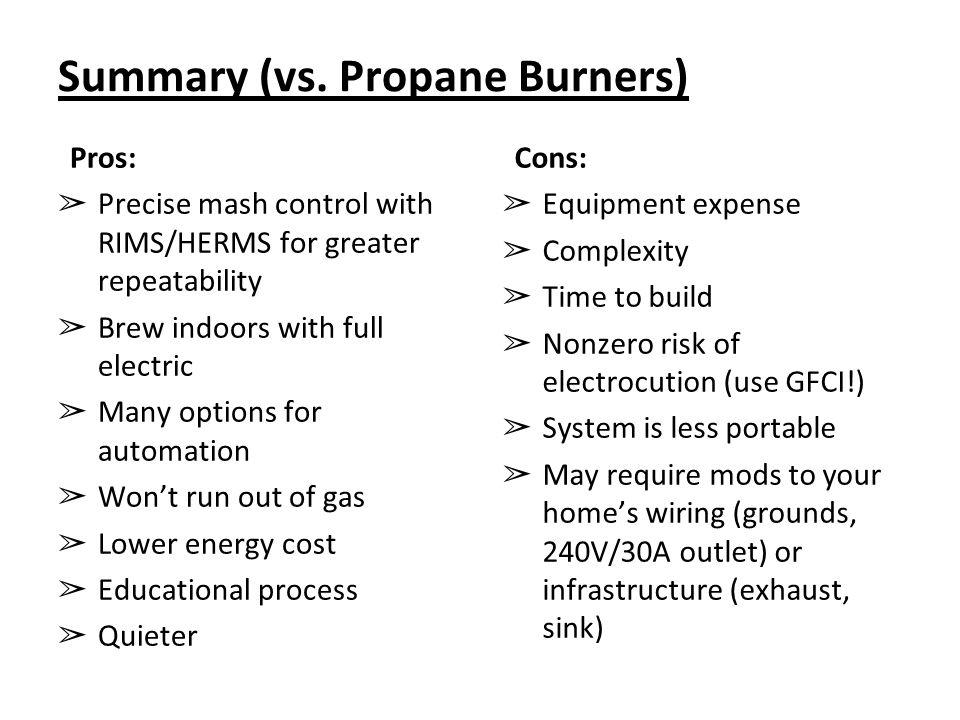 Summary (vs.