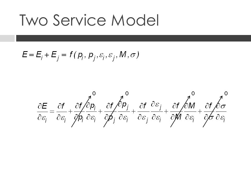 Two Service Model 0000