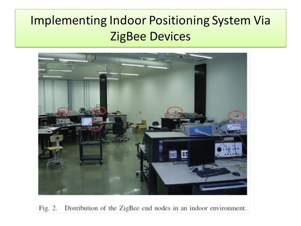 Implementing Indoor Positioning System Via ZigBee Devices