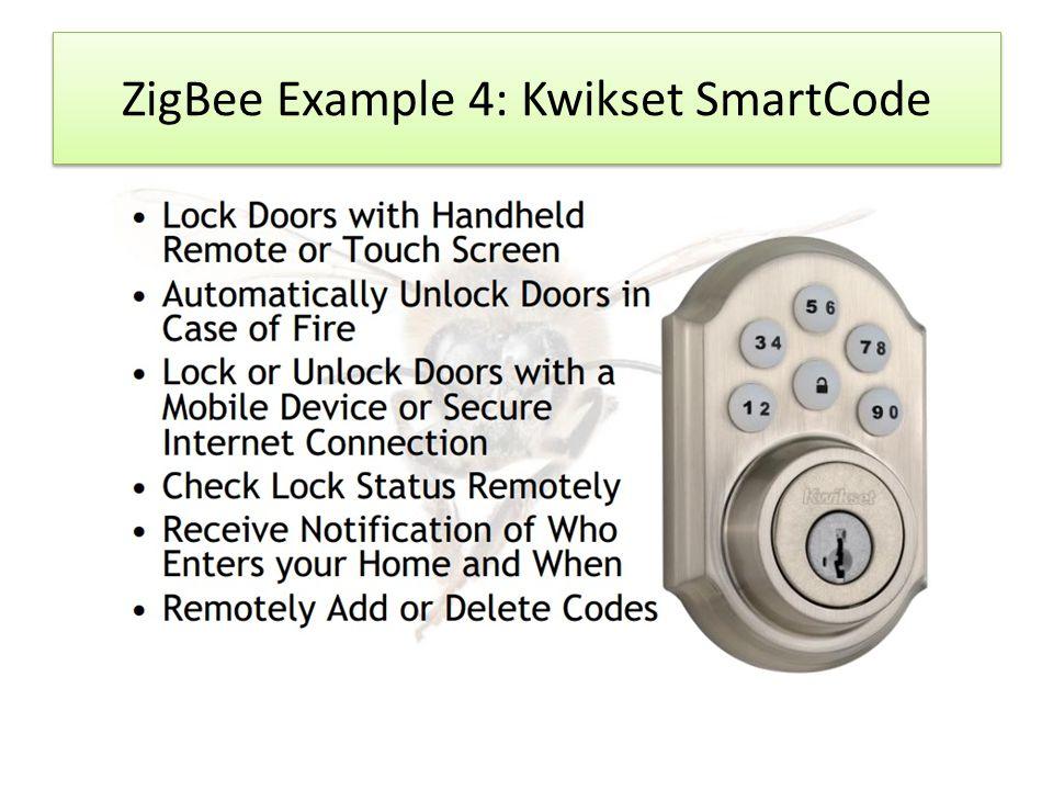 ZigBee Example 4: Kwikset SmartCode