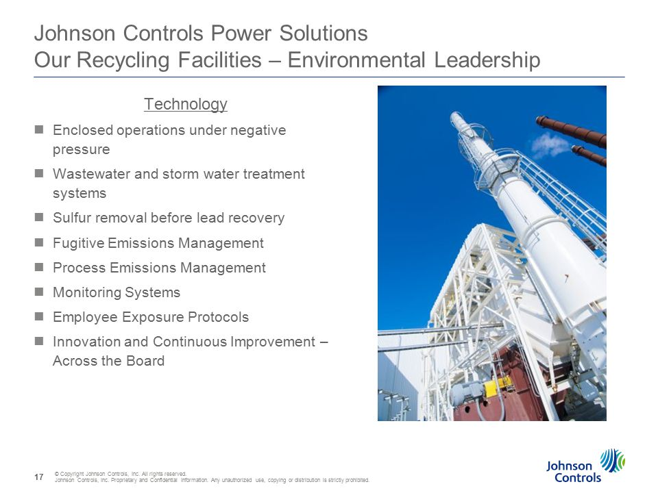 © Copyright Johnson Controls, Inc. All rights reserved.