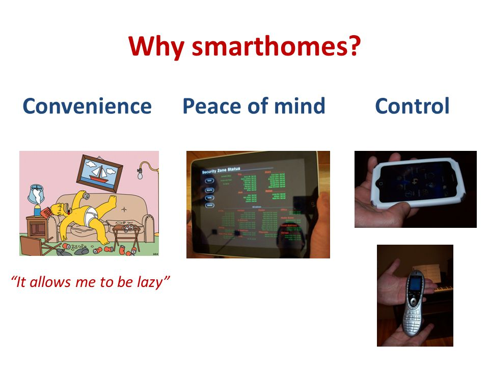 Why not smarthomes.