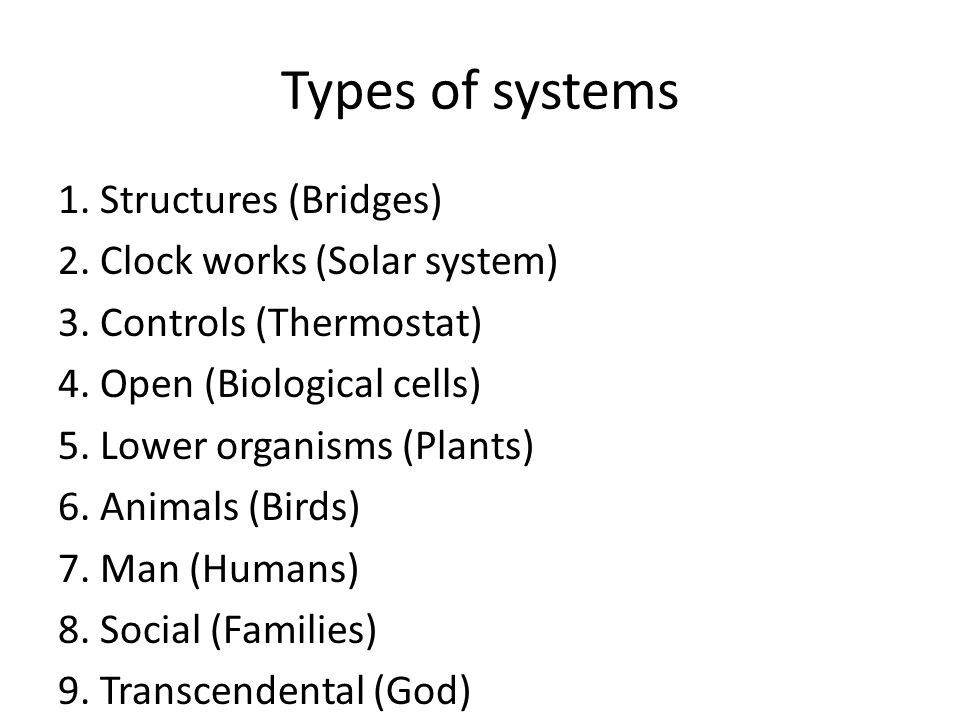 System of systems A collaboration of independent systems that have lives of their own but are brought together to serve a purpose.