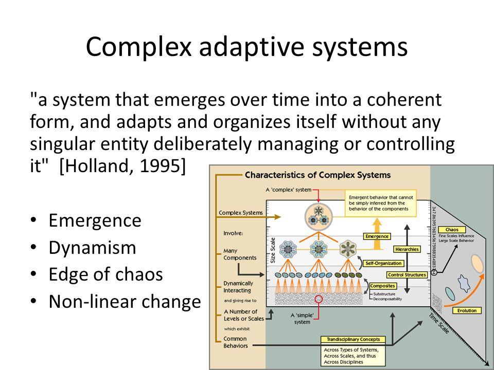 Designing Complex Adaptive Systems Is platooning like flock behavior .