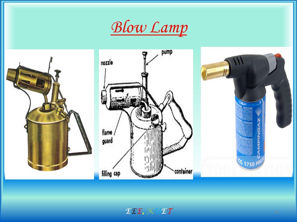 Blow Lamp 31 EEE, KUETEEE, KUET