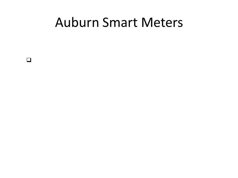 Auburn Smart Meters 