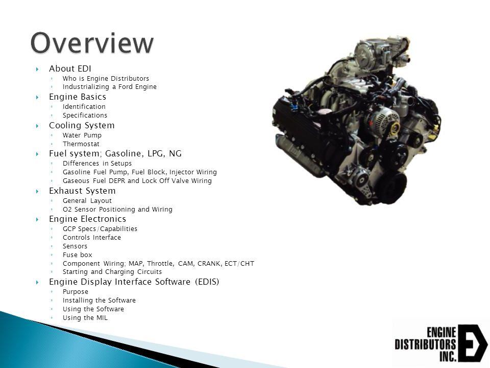 EDI part # Calibration # Displacement Engine Part # Firing order