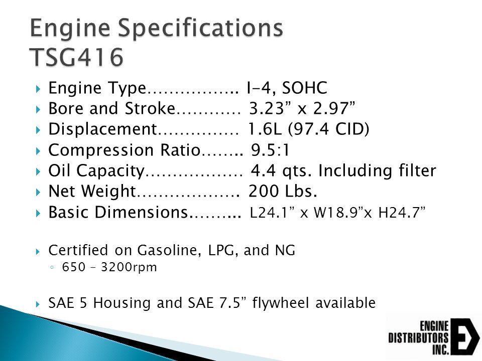  Engine Type……………..