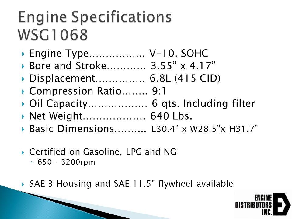  TSG416/DSG423/WSG1068 ◦ 1 – 2 – 3  MSG425/All future engines ◦ 1 - 6 – 5 - 4