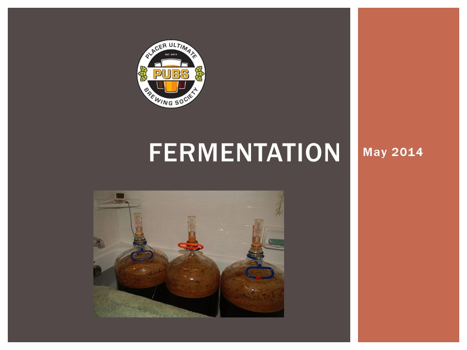  Fermentation is the process in which microorganisms convert organic compounds into a simpler compounds.