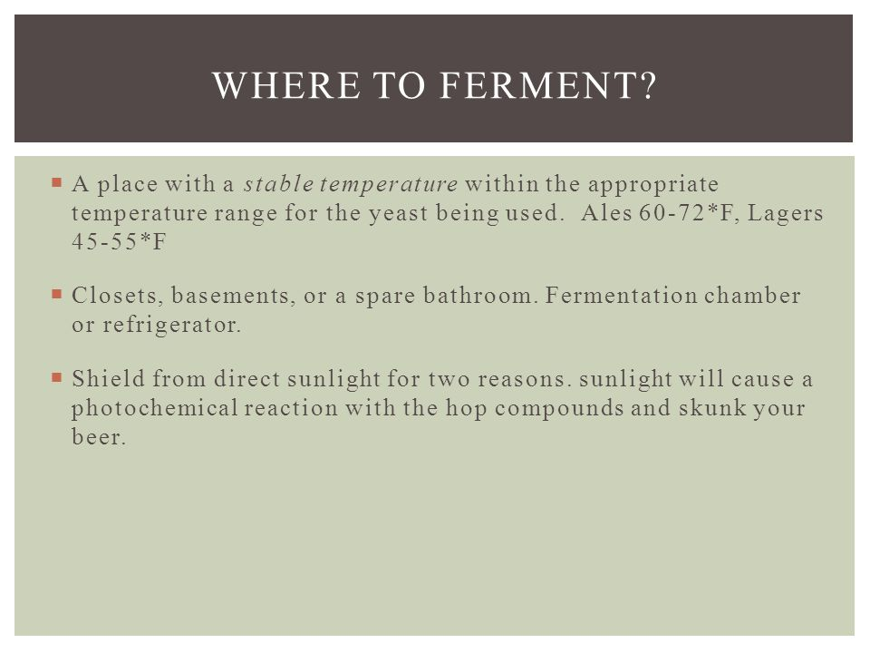  Active fermentation should start within 12 o 24 hours.