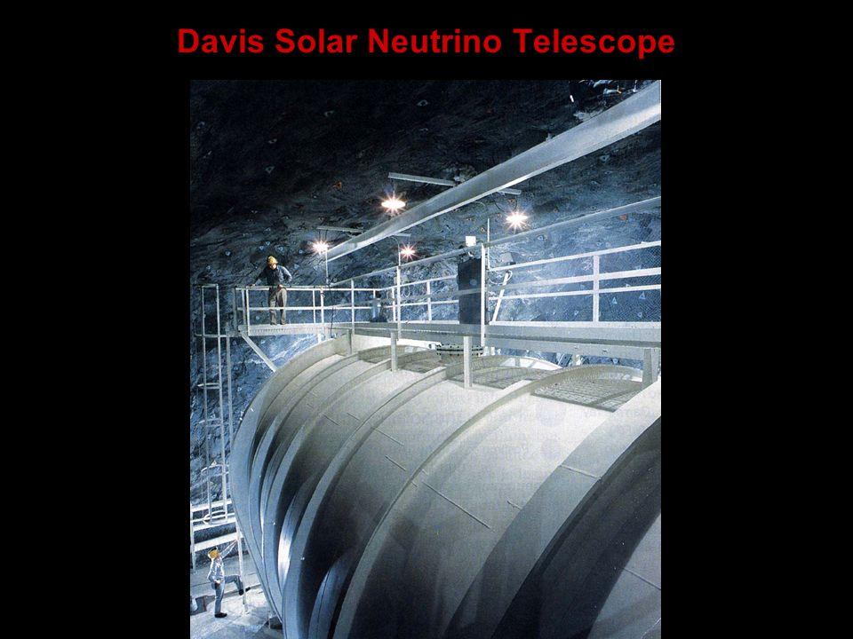 Davis Solar Neutrino Telescope