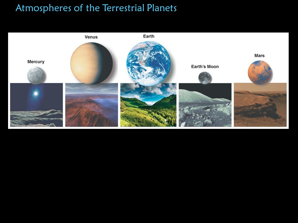 Atmospheres of the Terrestrial Planets