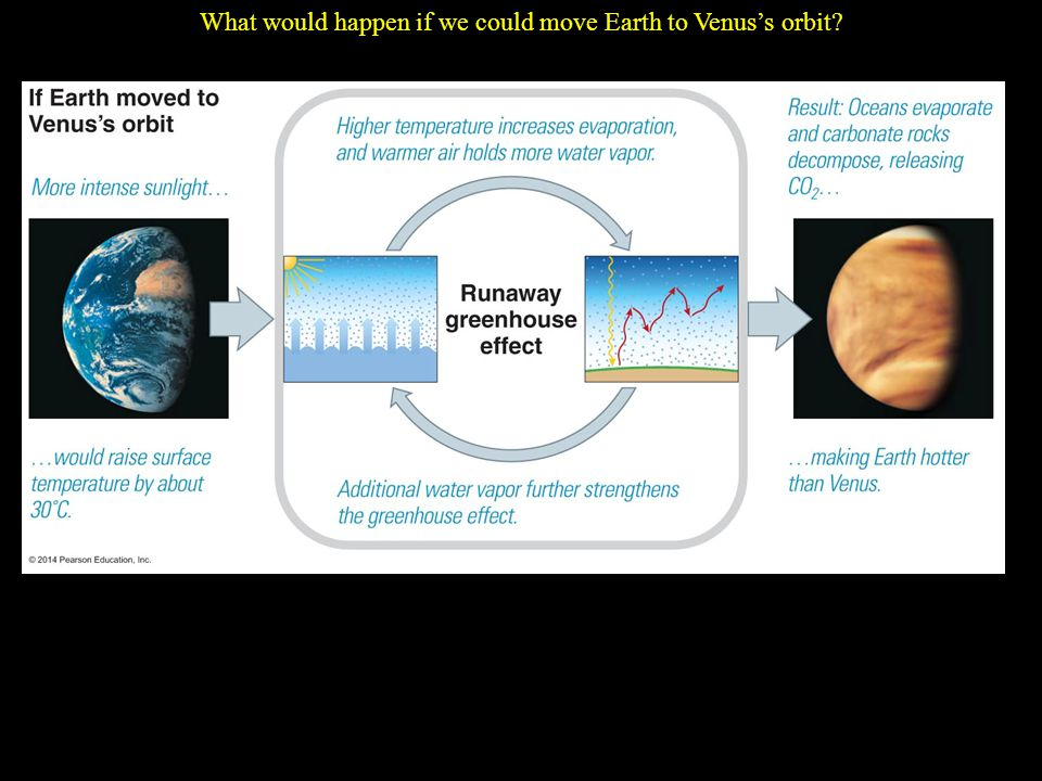 What would happen if we could move Earth to Venus's orbit
