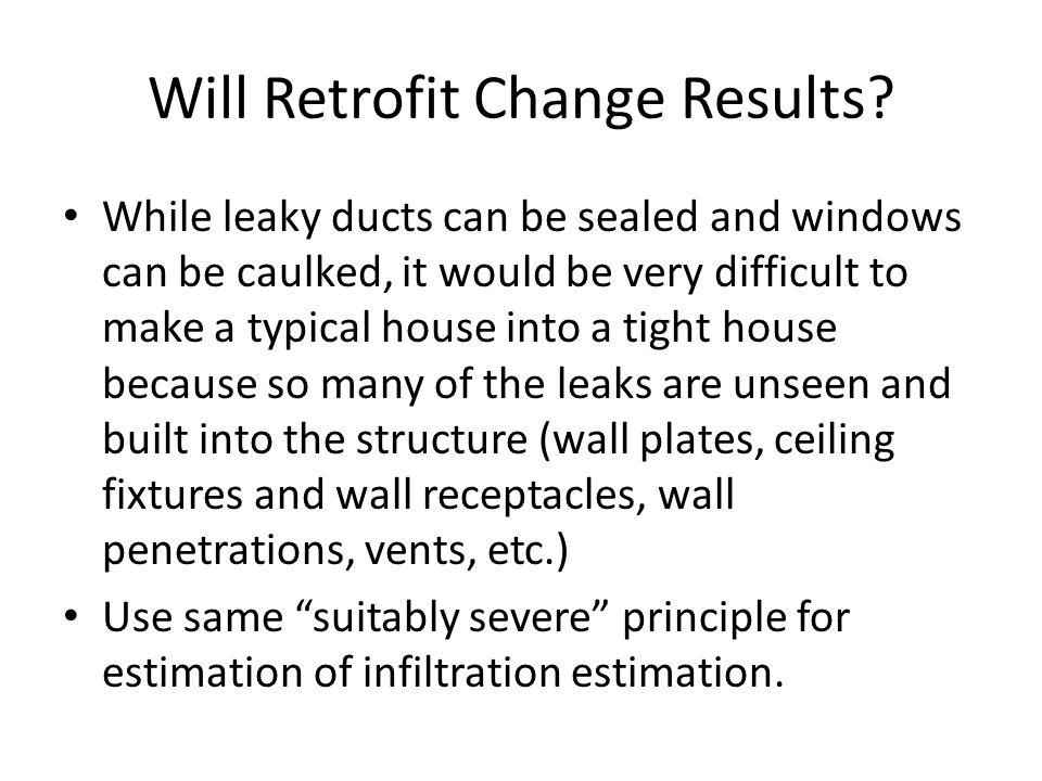 Will Retrofit Change Results.