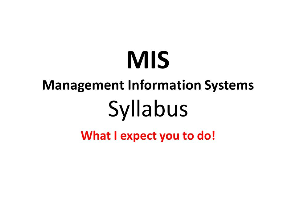 Abstract Thinking & Experimentation Be aware of your company's goal in using Information Systems – Don't mistaken your ignorance for a stupid system.