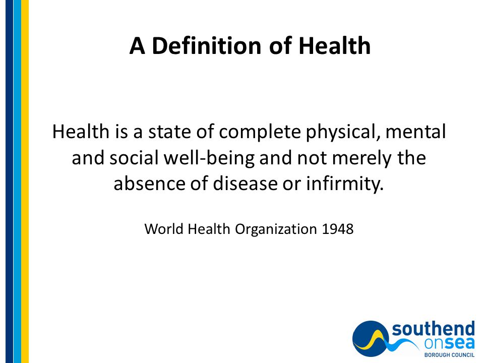 A Definition of Mental Health Mental health is not just the absence of mental disorder.