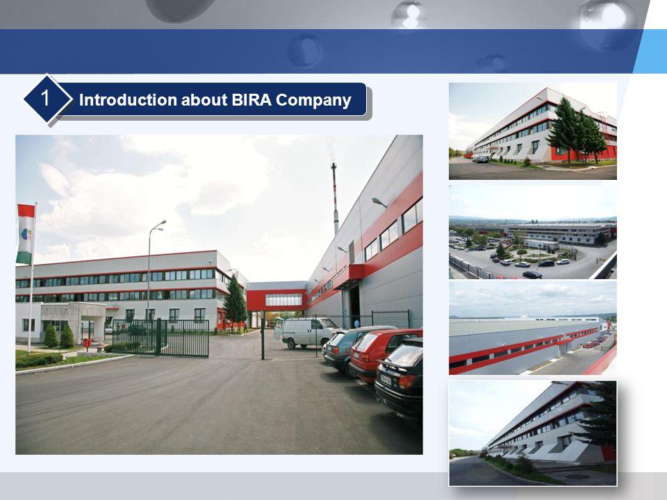 LOGO Introduction about BIRA Company 1