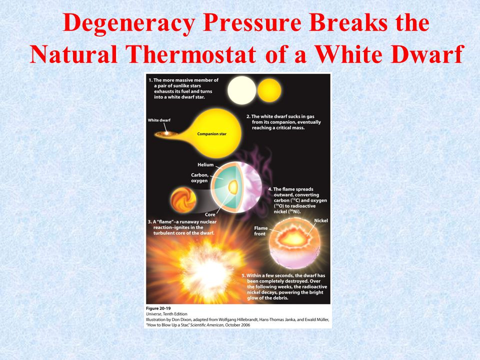 Degeneracy Pressure Breaks the Natural Thermostat of a White Dwarf