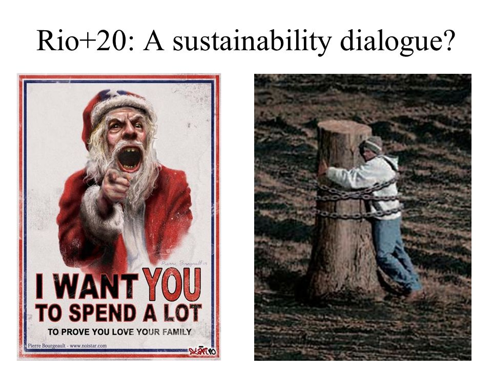Rio+20: A sustainability dialogue