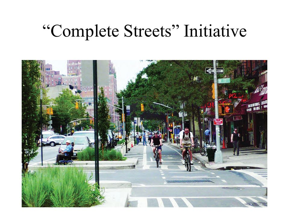 Complete Streets Initiative