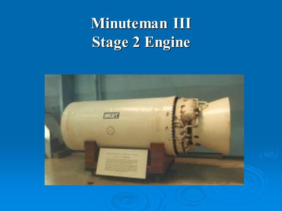 Minuteman III Stage 2 Engine