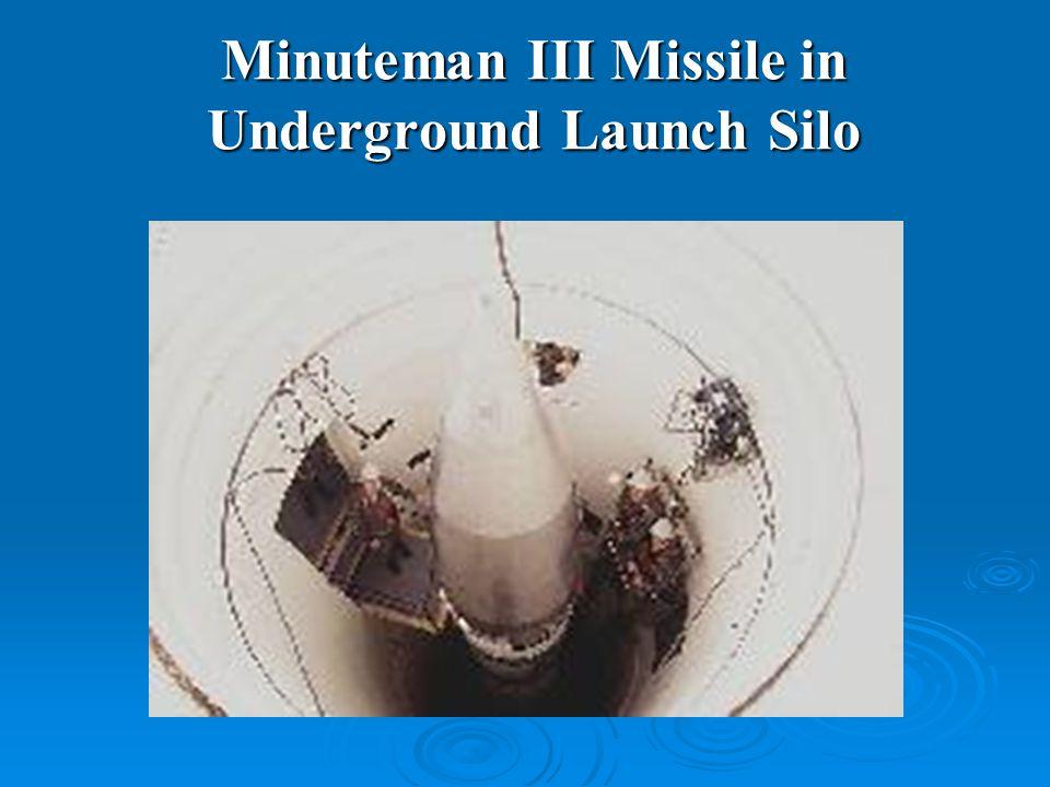 Minuteman III Missile in Underground Launch Silo