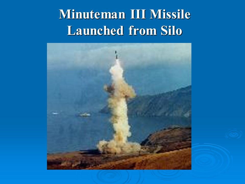 Minuteman III Missile Launched from Silo