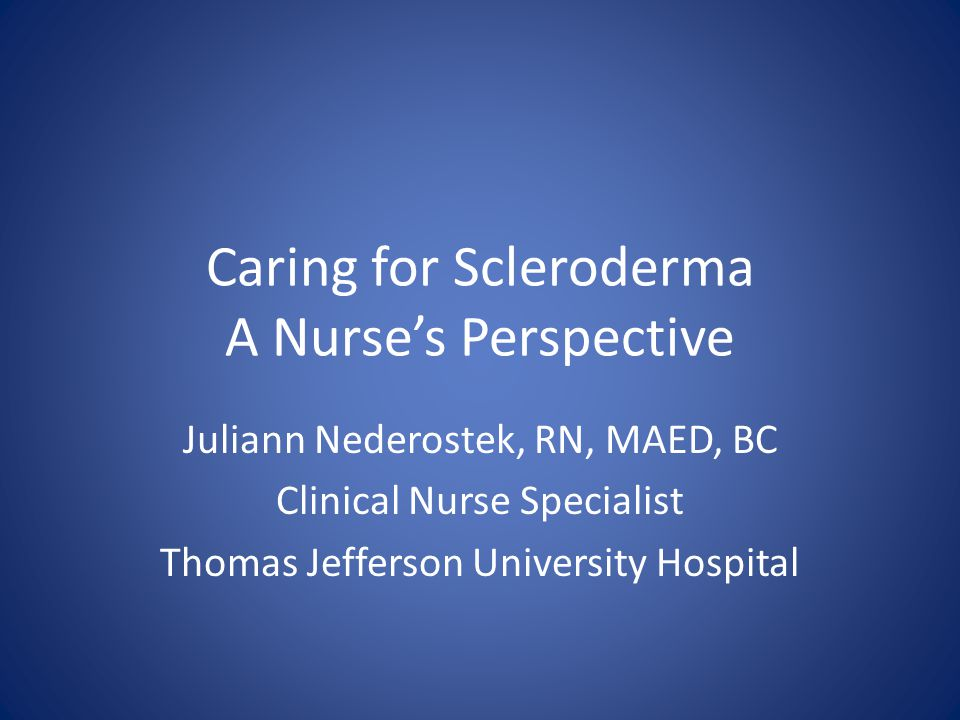 Epidemiology Scleroderma is a rare disease Less than 500,000 people in the United States Effects more women than men Possible hormone connection, but unclear Age most commonly is between 35-50 years Young children, young adults and older adults can also develop scleroderma