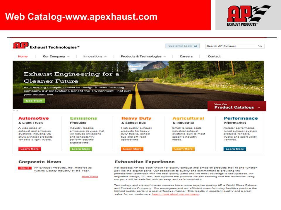 Web Catalog-www.apexhaust.com