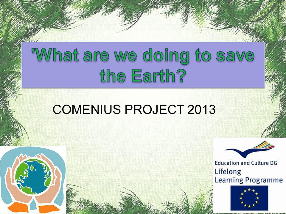COMENIUS PROJECT 2013