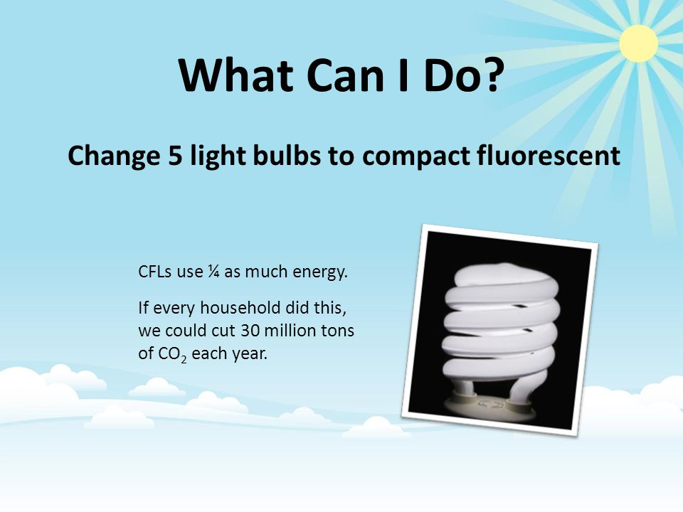 Do you have CFL bulbs in your home? 1. 1. Yes 2. 2. No