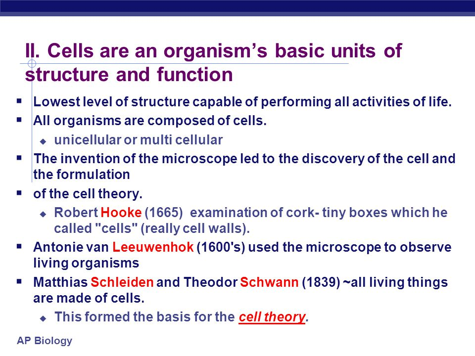 AP Biology Check Point  Diagram the hierarchy of structural levels in biology beginning with an Atom.