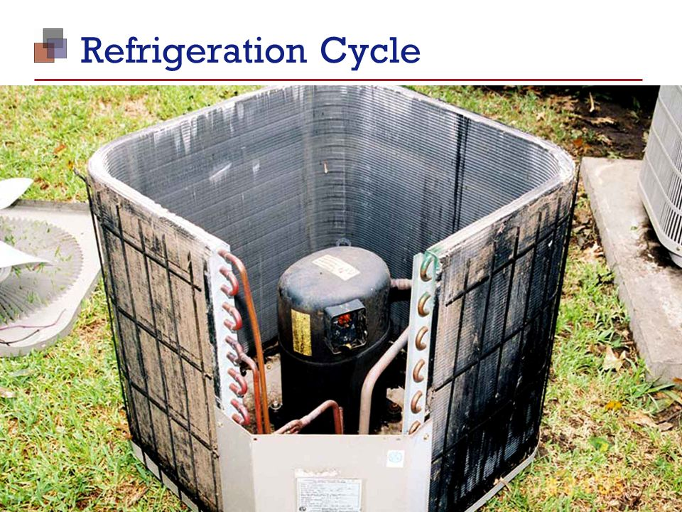 Foundations of Real Estate Management Module 3: Building Operations I TM 31 Refrigeration Cycle