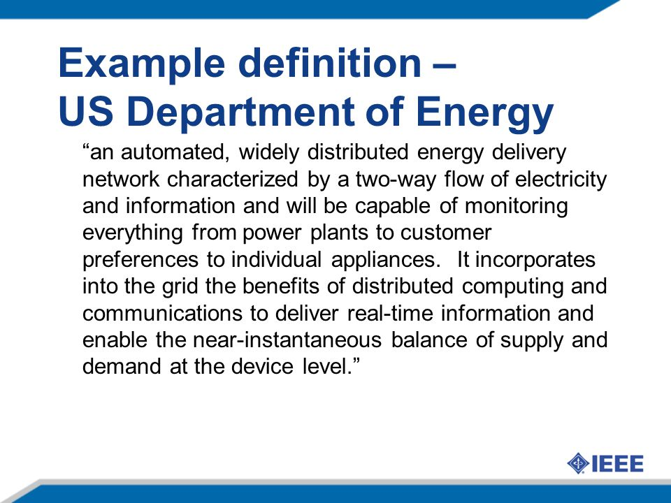 SG: A group of intertwined Markets Transmission and Generation Distribution Automation Distributed Energy Gen.