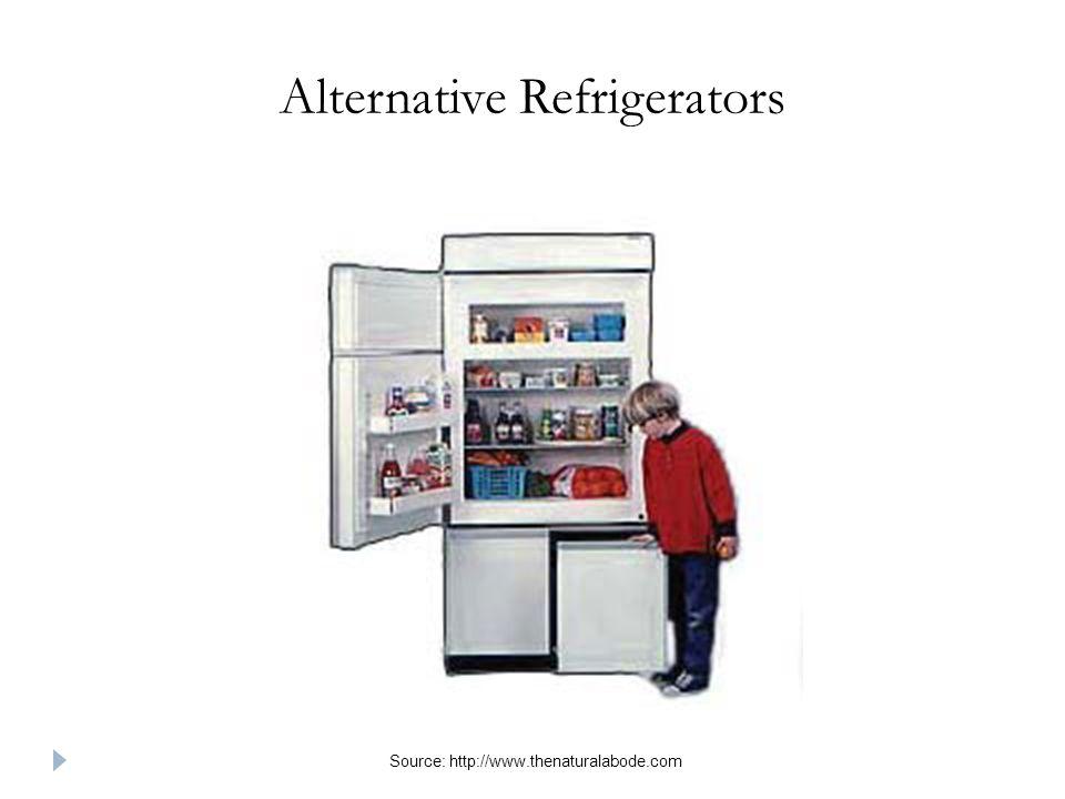 Alternative Refrigerators Source: http://www.thenaturalabode.com