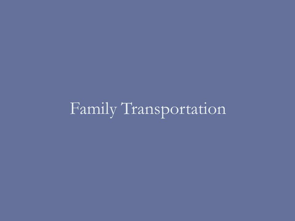 Family Transportation
