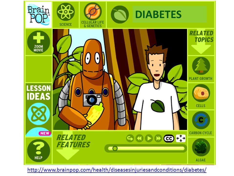 http://www.brainpop.com/health/diseasesinjuriesandconditions/diabetes/ DIABETES