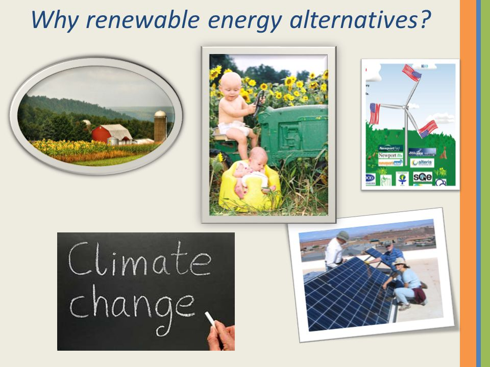 Why renewable energy alternatives?