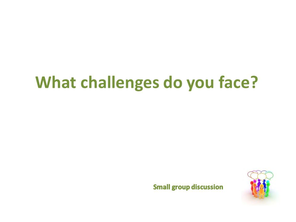 What challenges do you face Seventh Generation Learning Series Simple Living