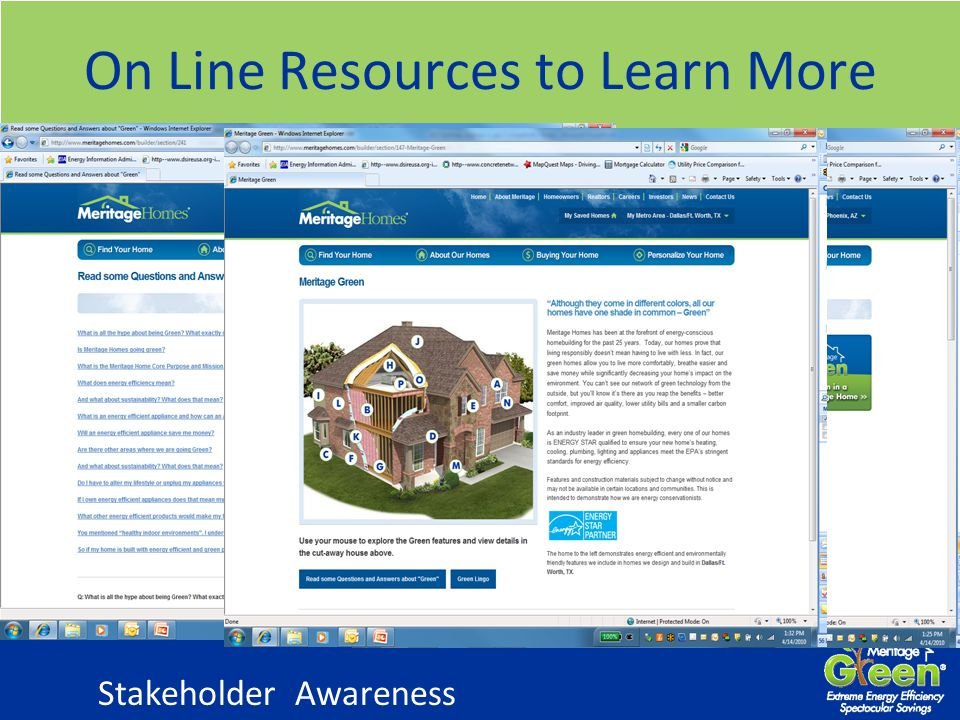On Line Resources to Learn More Stakeholder Awareness