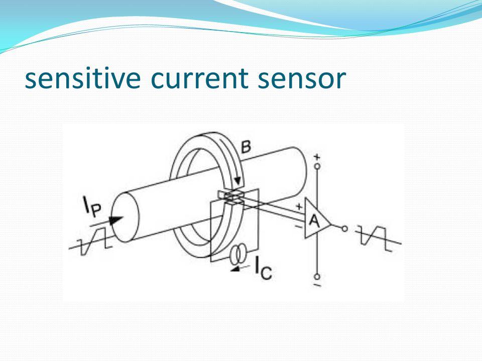 sensitive current sensor