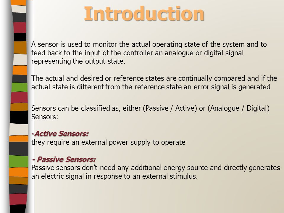 (Linear / Angular) Position and Speed Sensors A typical application of a linear variable differential transformer (LDVT) sensor would be as a pressure transducer Advantages : linearity, which is its voltage output to displacement is excellent, very good accuracy, good resolution, high sensitivity as well as frictionless operation.