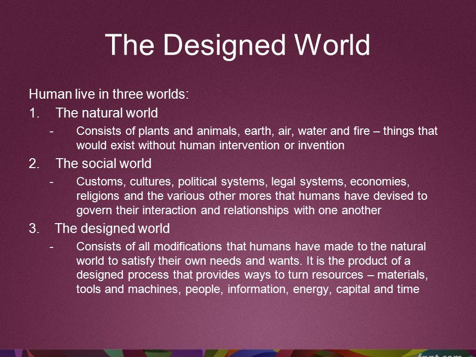 Designed World in Agricultural & Biotechnology