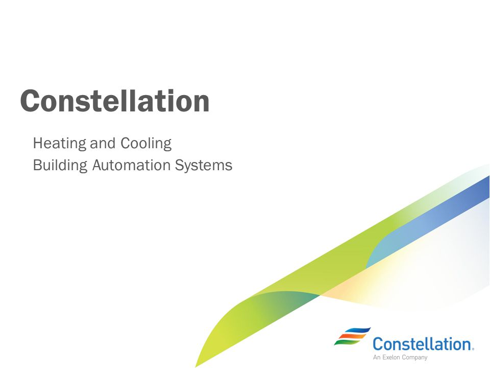 Constellation Heating and Cooling Building Automation Systems